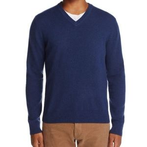 The Men's Store Bloomingdales Large Cashmere Navy